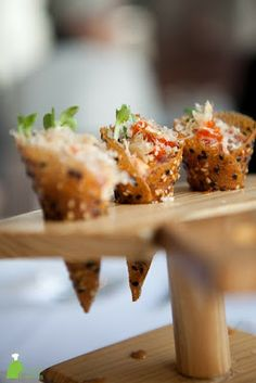 Spicy Tuna Tartare in Sesame Miso Cones
