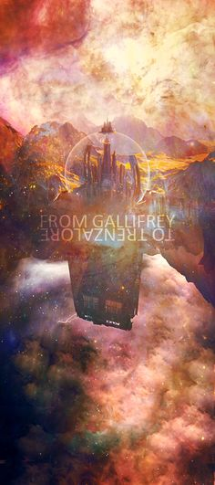 From Gallifrey to Trenzalore Art.  Doctor Who.