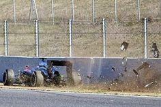 Accidente Alonso  McLaren