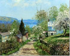 Edward Willis Redfield 1869 - 1965, Hillside And Valley, Point Pleasant