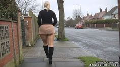sexy ass walk in short skirt and seamed pantyhose tights - Daniella In Pantyhose Videos #pantyhose #public #tights #boots #sexy