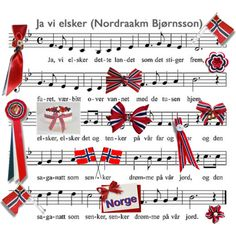 Norwegian National Song and Items for 17th May