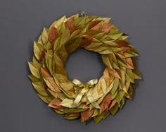 DIY Autumn : DIY Golden Hues Autumn Wreath