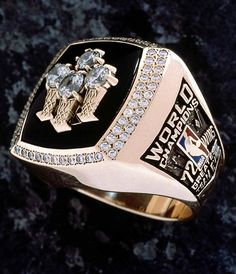 Chicago Bulls NBA Championship Ring - 1996