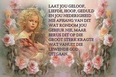 Here, hou my so styf vas, druk my teenaan U bors, so heerlik om U Lief te he, dankie Jesus.