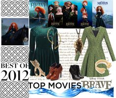 """Top Movies: Brave"" by andyloves7 ❤ liked on Polyvore"