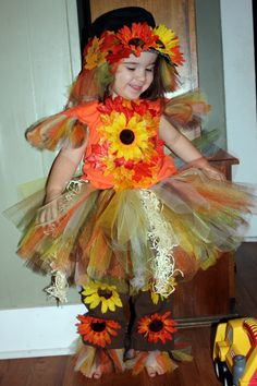 Tulle Scarecrow Costume