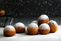 MandyfromLady and Pupsfries up hollow beignets and showers them with powdered sugar—and how you fill them is up to you.