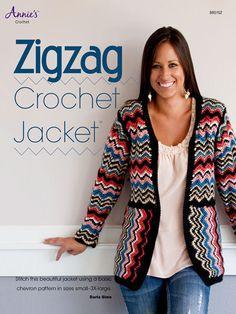 Zigzag Crochet Jacket - Crochet Pattern