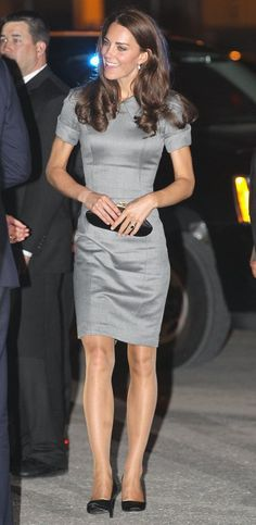 Dated but dignified, they are the item that has divided style commentators, but Kate's pantyhose have been part of her daytime look from day one. It's said that her brand of choice is Philippe Matignon in Jade Sheer 20 Denier.