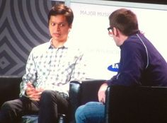 Ben Silbermann says Go Your Own Way when you do your start-up and Don't Give Up. By @Liz Gannes