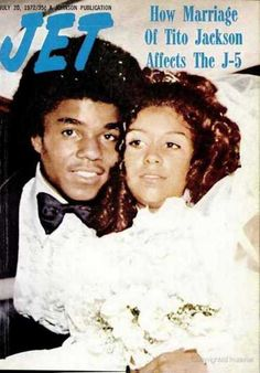 "superseventies: "" Tito Jackson gets married, Jet magazine, May 1972. "" Jackson 5's Tito married Delores ""Dee Dee"" Martes in 1972. They were together until their divorce in 1993."