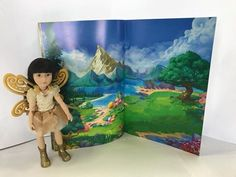 It's time for a story ... here's Luna from the Kruselings by Käthe Kruse with the new activity book ready to help you create a promotion in-store. Just let us know if you're interested!!