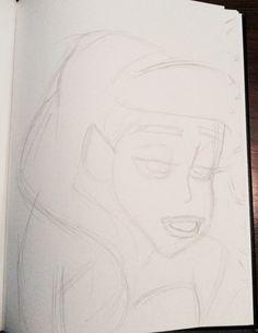 Disney Ariel drawing