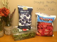 Staying Healthy with SAM's Club! #TrySamsClub #shop