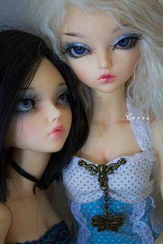 Charlie & Minuit (Minifee Chloe & Rheia)   Flickr - Photo Sharing!
