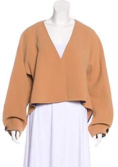 e8cc09db0696fc Diane von Furstenberg Long Sleeve Crop Top w/ Tags Slash, Long Sleeve Crop  Top