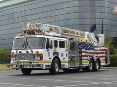 Crescent Springs Villa Fire Department (KY)  510 2007 American LaFrance 110' Aerial  http://setcomcorp.com/900intercom.html