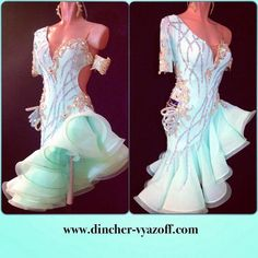 Ballroom Figure Skating Dress Inspiration for Sk8 Gr8 Designs