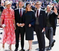 The dream team (minus rachel zane) at the royal wedding. My suits heaaaart!!!