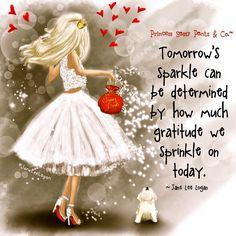 Sprinkle some gratitude...
