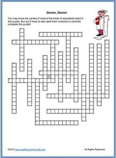 Printable Word Fill In Puzzles. 25 Printable Word Fill In Puzzles. Crush Printable Word Fill In Puzzles Spelling Bee Words, All About Spelling, Spelling Practice, Vocabulary Practice, Rhyming Words, Printable Word Games, Printables, Free Online Crossword Puzzles, Fill In Puzzles