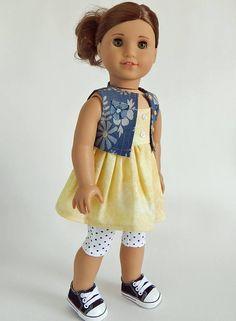 "**SALE** DARK BLUE Denim Shoulder Bag DOLL PURSE fits 18/"" AMERICAN GIRL DOLL"