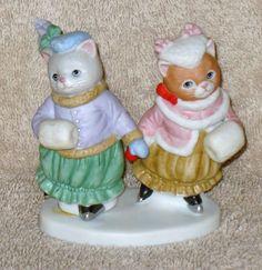 "L@@K RARE KITTY CUCUMBER "" GRACEFUL GLIDERS "" PRISCILLA AND GINGER MIB in Collectibles, Decorative Collectibles, Decorative Collectible Brands | eBay"