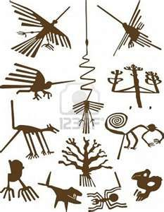 Illustration about Nazca Lines, definitive representation of geoglyphs, vector illustration. Illustration of lines, condor, nazca - 3068712 Nazca Lines Peru, Nazca Peru, Ancient Aliens, Ancient Art, Inka Tattoo, Peru Tattoo, Motif Arabesque, Peruvian Art, History Tattoos