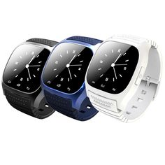 Bluetooth Smart Watch Wristwatch Smartwatch with Dial SMS Remind Music Player Pedometer Call Answer for Android IOS Smartphones #Affiliate