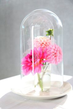 Flowers for the table (interesting display)
