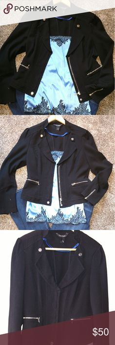WHBM jacket Cute dressed up or down White House Black Market Jackets & Coats Blazers