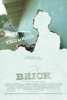 - Brick (Rian Johnson) movie poster @laurenbell @alyssatrotter @Emma Lervold RECOGNIZE ANYTHING? :D