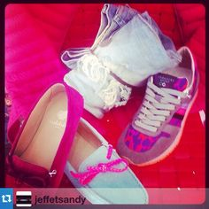 #Repost from @jeffetsandy#femme#shoes#tendance#pink @serafinisport #exclu#boutique @jeffetsandy #calvi #serafinishop #sneakers #running #losangeles