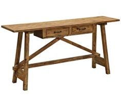 Once I learn how to sling a hammer, I'm going to try to make a table like this: 2-Drawer Garden Table...Dreamin' BIG, as usual.