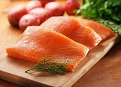 Salmon with Spiced Citrus Kefir Sauce   Recipes   Eat Well   Best Health