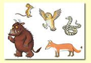The Gruffalo Book Resources - Wood - Storyboard / Cut & Stick