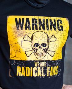 T-shirt Warning