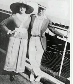 Charlie and 1st wife Mildred Harris