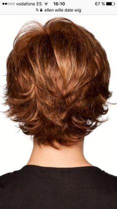 Thin Hair Cuts layer cut for thin curly hair Thin Hair Cuts, Short Hair With Layers, Short Hair Cuts For Women, Layered Hair, Layered Cuts, Short Cuts, Short Hairstyles For Thick Hair, Summer Hairstyles, Wedge Hairstyles