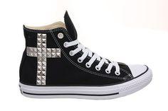 Black Studded all star!!!