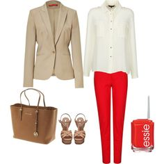 """""""RED"""" by lizmau on Polyvore"""