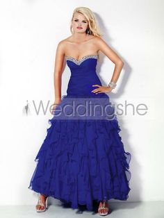 Gorgeous Floor-Length Sweetheart Prom/Ball Gown Dress(Free Shipping)