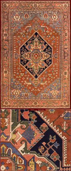 Antique Bakshaish rug ; they were knotted beetwen 1780 and1900, of great class…