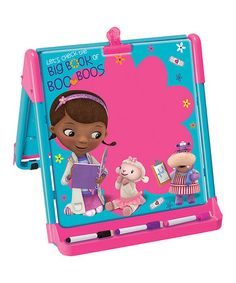 Another great find on #zulily! Doc McStuffins Tabletop Easel #zulilyfinds