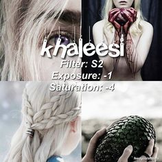 . ♡ //clean filter for mostly white feed :) gosh i miss game of thrones!! 😑comment your fandom or fav character and ill make a filter of it later ((any tv show or book or movie character)) ♡qotp: dany or jon? -- if you have questions i only answer thru kik: macsquishy14 ☁️free giftcards on my bio just download as many as you can and you can get a lot of rewards☁️ (itunes, amazon google play and more)