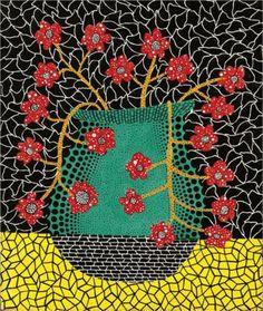 love her....Flowers - Yayoi Kusama