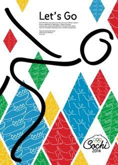 Winter olympic 2014 poster