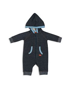 7 For All Mankind Infant Boys' French Terry Coverall - Sizes 0-9 Months | Bloomingdale's