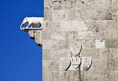 Simbolo di forza Torre della Scafa Cagliari  #TuscanyAgriturismoGiratola